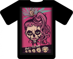 Pink Zombie T Shirt